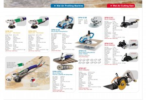 Beveling Auxiliary Base, Edge Polishing Auxiliary Base, Air Hammer, Micro Air Grinder, Wet Air Belt Sander