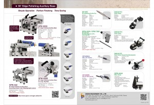 Beveling Auxiliary Base, Edge Polishing Auxiliary Base, Air Hammer, Micro Air Grinder, Wet Air Belt Sander