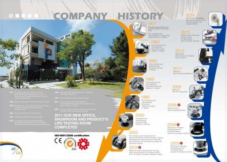 GISON تاريخ الشركة