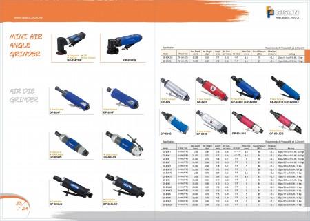 GISON Mini smerigliatrice angolare pneumatica, smerigliatrice pneumatica