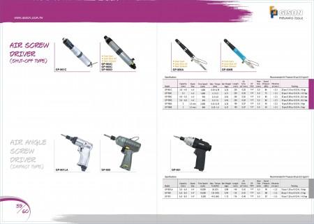 GISON Air ScrewDriver (Shut-Off Type), Air Angle ScrewDriver (Jenis Impak)
