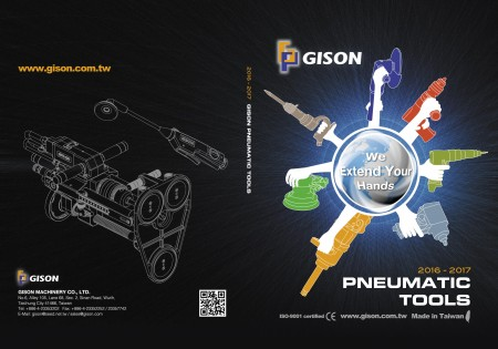 GISON Air Tools, Pneumatic Tools Front / Back စာမျက်နှာ
