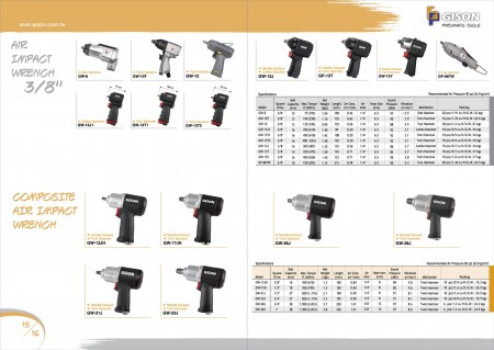 """Air Impact Wrench 3/8"""", Composite Air Impact Wrench"""