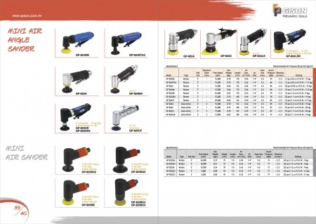 GISON Mini Air Angle Sander, Mini Air Sander