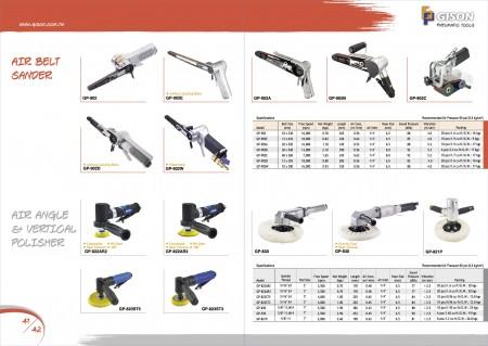 GISON Пневматический ленточный шлифовальный станок, угловой полировщик, воздушный вертикальный полировщик