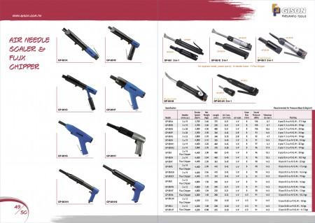GISON Паветраны іголкі Scaler, Air Flux-Chipper