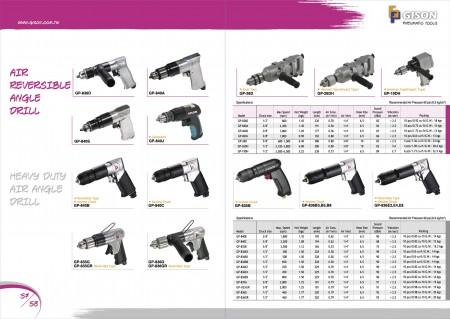 Air Reversible Drill, Heavy Duty Air Drill, Air Impact Hammer Drill