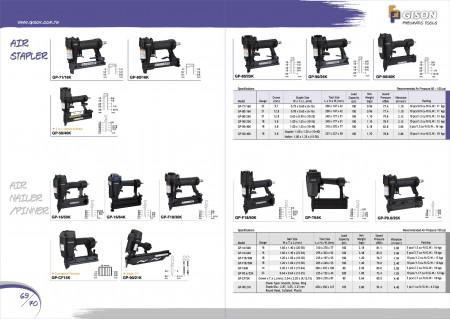 GISON Air Stapler, Air Nailer, Air Pinner