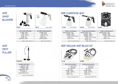 GISON Комплект пескоструйной машины Air Spot, Съемник воздушных вмятин, Пистолет для очистки воздушной пены, Пистолет для очистки поворотного воздушного ножа, Комплект для вакуумирования и продувки воздуха