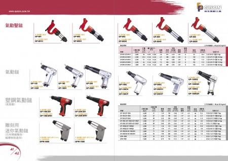 GISON Air Chipping Hammer, Air Hammer, Composite Air Hammer