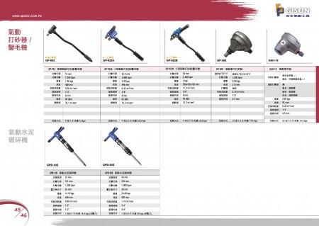 GISONエアスケーリングハンマー、エアスクレーパー、エアパームハンマーネイラー、オートエアハンマー、エアコンクリートブレーカー