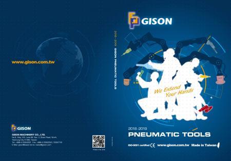 GISON Εργαλεία αέρα, Πνευματικά εργαλεία - Εξώφυλλο