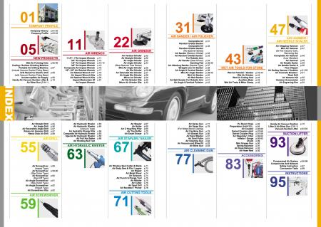 GISON Alat Udara, Alat Pneumatik - Indeks