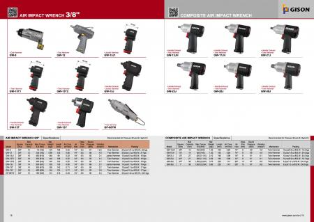"""3/8"""" Air Impact Wrench, Composite Air Impact Wrench"""
