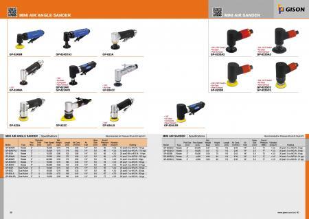 Mini Air Angle Sander, Mini Air Sander