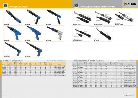 Air Needle Scaler, Air Needle Scaler, Air Flux Chipper