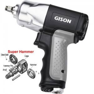 """3/8"""" Composite Air Impact Wrench (300 ft.lb)"""