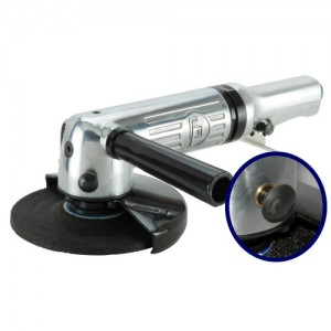 """5"""" Air Angle Grinder (Safety Lever,11000rpm)"""