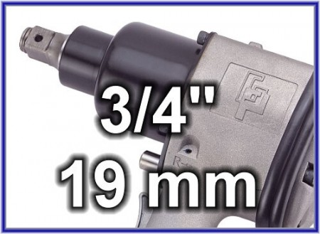 3/4 inch (19 mm) Air Impact Wrench - 3/4 inch Air Impact Wrench