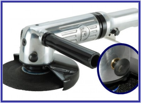 Air Angle Grinder (Stop-Spanner Free) - Air Angle Grinder