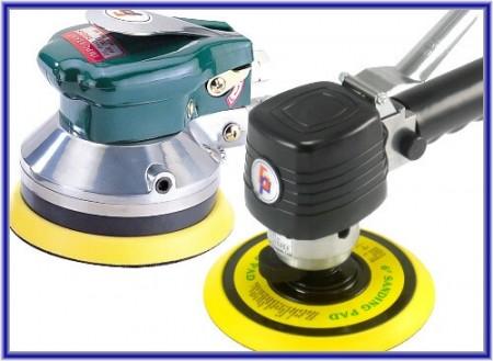 Air Dual Action Sander (Jenis Bulat) - Air Sander (Jenis Bulat)