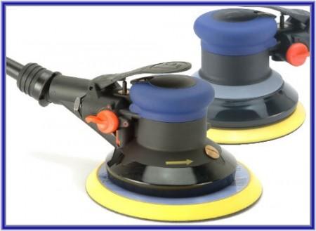 Орбитална шлифовъчна машина с произволен въздух - Орбитална шлифовъчна машина с произволен въздух