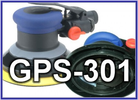 Паветраная выпадковая арбітальная шліфавальная машына серыі GPS-301 - Паветраная выпадковая арбітальная шліфавальная машына серыі GPS-301