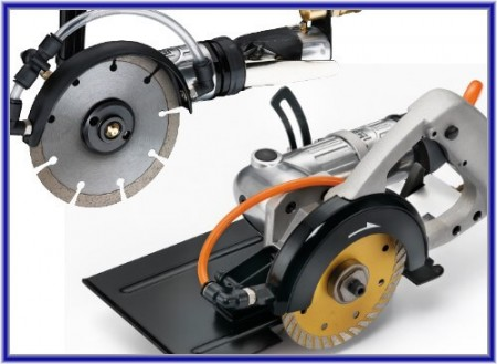 注水式 / 濕式氣動切割機 - 注水式 / 濕式氣動切割機