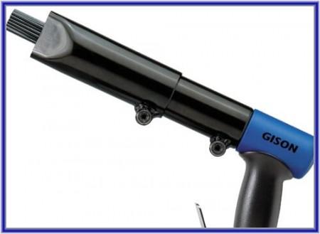 Scaler Jarum Udara (Air Pin Derusting Gun) - Air Needle Scaler (Pneumatik Pin Derusting Gun)