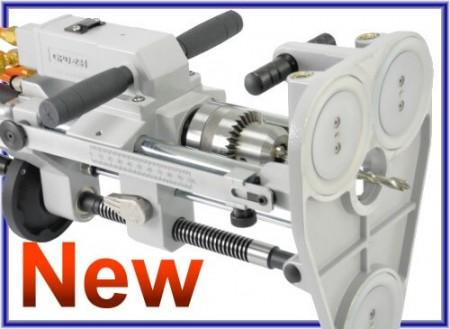 吸盤固定座型氣動鑽孔機/鑽床 - 吸盤固定座型氣動鑽孔機/鑽床