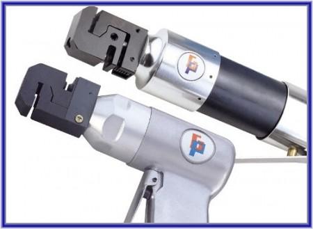 Strumento per punzonatura ad aria e flangia - Strumento per punzonatura ad aria e flangia