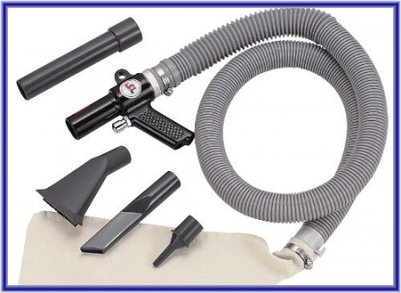 Air Wonder Gun Kit - Air Vacuum and Blow Kit