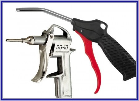 Air Blow Gun, Air Duster Gun - Pukulan Tiup Udara