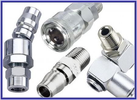 风动工具, 气动工具用风管进气快速接头 - 风动工具, 气动工具用进气快速接头