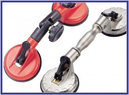 Suction Lifter - 2 Cups - Suction Lifter - 2 Cups