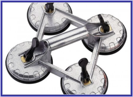 Suction Lifter - 4 Cups - Suction Lifter - 4 Cups