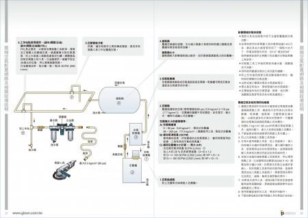 GISON 압축 공기 시스템 구성 요소 및 네트워크