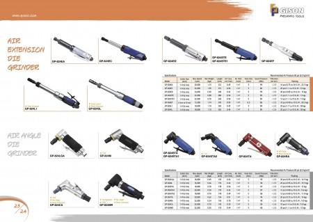 GISON Amoladora de matriz de extensión de aire, Amoladora de matriz de ángulo de aire