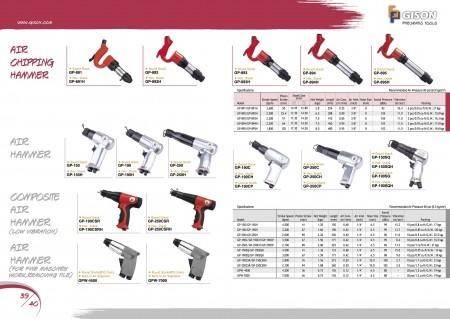 GISON Marteau burineur pneumatique, marteau pneumatique, marteau pneumatique composite