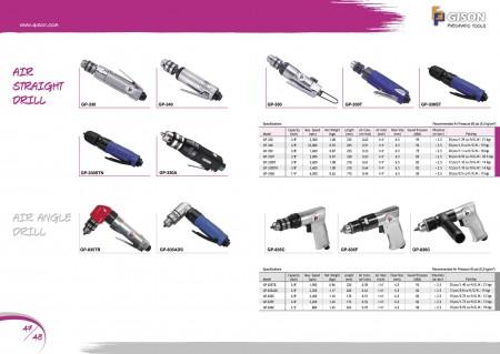 GISON Air Sraight Drill, Air Angle Drill