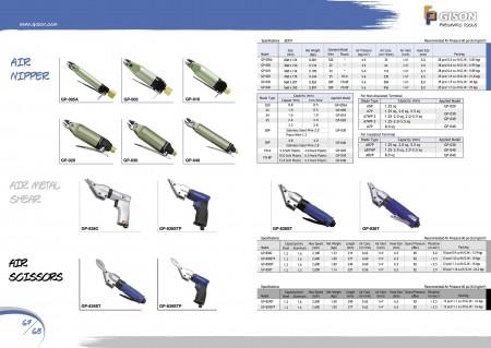 GISON Air Nipper, Air Metal Shear, Air Metal ψαλίδι
