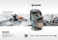 2018 GISON Outils à air humide pour catalogue de l'industrie de la pierre, du marbre et du granit - 2018 GISON Outils à air humide pour catalogue de l'industrie de la pierre, du marbre et du granit