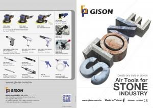GISON Інструменти для вологого повітря, Пневматичні мокрі інструменти, Полірувальник для вологого повітря, Шліфувальна машина, Шліфувальна машина