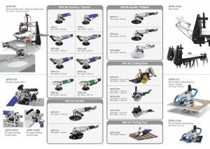 GISON Wet Air Tools, Pneumatic Wet Tools, Wet Air Polisher, Sander, Grinder