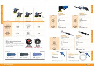 GISON Lijadora orbital aleatoria de aire seco, lijadora de aire, micro amoladora de aire, pistola de aire comprimido