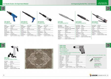 Air Needle Scaler, Air Spot Sand Blaster, Air Hammer