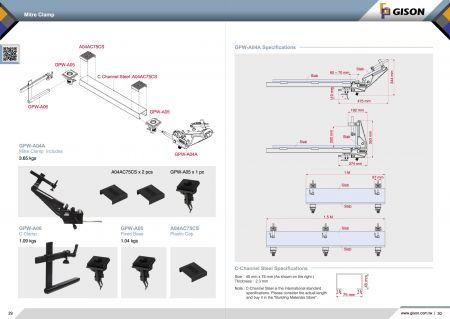 Мітральны заціск GPW-A04A