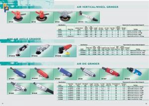 17 18 Amoladora vertical de aire Amoladora de matriz de aire