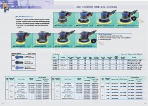 23 24 Пневматична орбітальна шліфувальна машина GPS-301 303