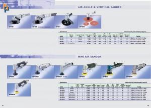 25 26 Lijadora de ángulo de aire Mini lijadora de aire